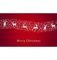 Merry Christmas deer vector image vector image