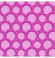 Pattern of pink circles vector image vector image