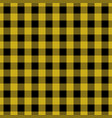 yellow tablecloth pattern design vector image vector image