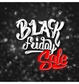 Black Friday sale background with bokeh vector image vector image