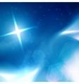 Blue Heavens cloudscape vector image