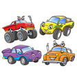 Cartoon the off road car vector image vector image
