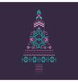 Christmas Tree - Tribal Vintage Aztec Theme