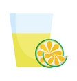 drink tequila and lime mexico icon vector image