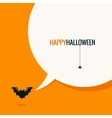 halloween social media concept background vector image