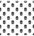 hawaii idol head pattern seamless vector image