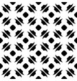 monochrome seamless pattern ornate texture vector image vector image