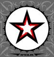 Original Star with arrows design element vector image vector image