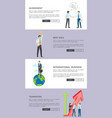 agreement and best idea web vector image vector image