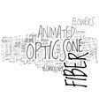 animals in fiji text word cloud concept vector image vector image