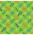 Background fish vector image vector image