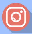 badge camera camera flash vector image vector image