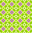 geometric pattern green vector image vector image