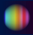 Multicolor lines in circle shape