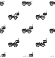 RC car icon in black style isolated on white vector image vector image