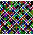 square pattern background from diagonal squares vector image vector image