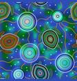 australian aboriginal art sea turtles and vector image vector image