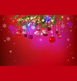 beautiful holiday template vector image
