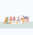 college education student learning concept vector image