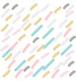 cute hand drawn stripes pattern in pastel colors vector image vector image
