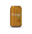 drink aluminium can vector image vector image