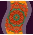 For cover design og invitation vector image