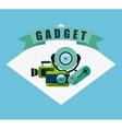 gadget tech vector image vector image
