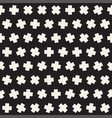 Geometric scattered shapes seamless black