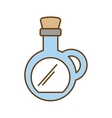 oil bottle spa product isolated icon vector image vector image