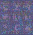 pattern-violet-pink-fish vector image vector image