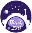 think big vector image
