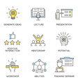 Business corporate management employee - 1 vector image