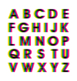 Colorful Alphabet Set vector image vector image
