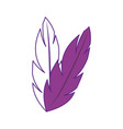 feathers icon image vector image vector image