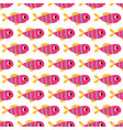seamless decorative pattern cute cartoon vector image
