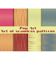 Dotted Pop Art seamless pattern vector image vector image