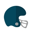 Isolated helmet of american football design vector image vector image
