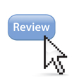 Review Button Click vector image vector image