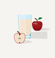 Apple Juice vector image vector image