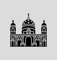 Berlin Cathedral vector image