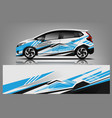 car decal wrap design graphic abstract stripe