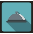 Cloche icon flat style vector image vector image