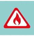 emergency icon design vector image vector image