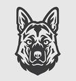 Shepherd Head Logo Mascot Emblem vector image vector image