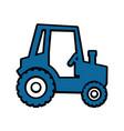 tractor icon image vector image