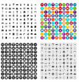 100 home icons set variant vector image vector image