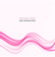 abstract pink waves background abstract vector image