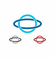 circle and oval shape merger vector image