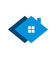 diamond home real estate logo template design eps vector image vector image