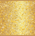 gold sparkle glitter background gold wall vector image